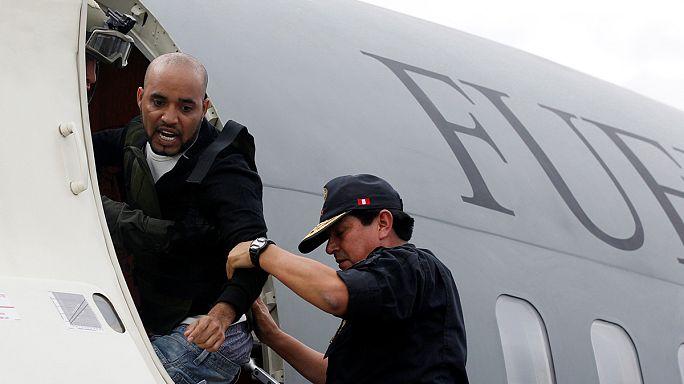 Perulu uyuşturucu baronu 'Salyangoz' ülkesine iade edildi