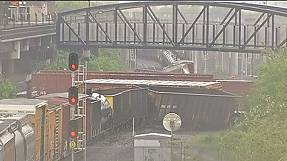 Washington DC chemical leak after freight train derails