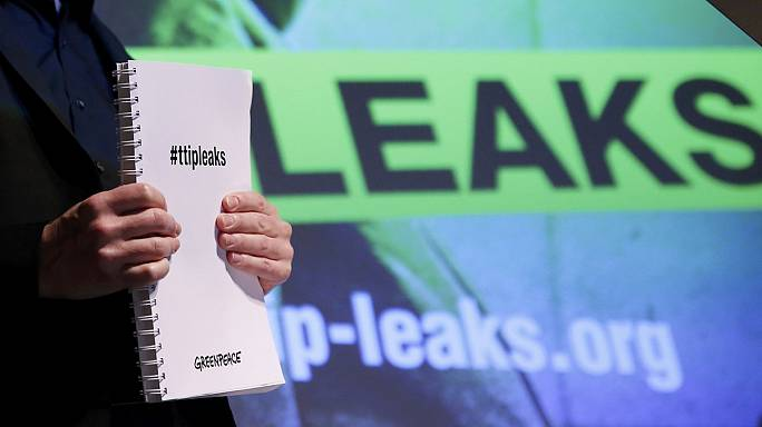 Greenpeace leaks secret TTIP documents as US-EU trade talks spark protest