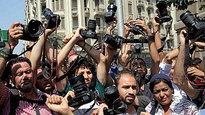 Egyptian police storm media union office, arrest journalists
