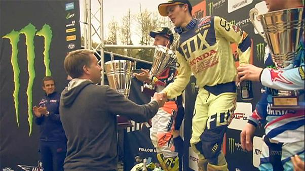 Gajser scores fourth Motocross season win in Latvia