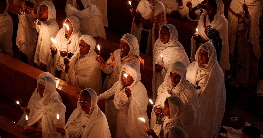 44861c50121 Ethiopian Orthodox churches celebrate Fasika
