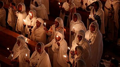 Ethiopian Orthodox churches celebrate Fasika, Ethiopian Easter