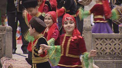 Festival de artesanato de Sheki no Azerbaijão