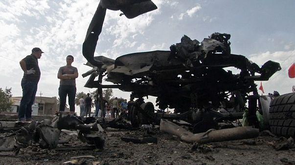 Βαγδάτη: Φονικό μπαράζ βομβιστικών επιθέσεων
