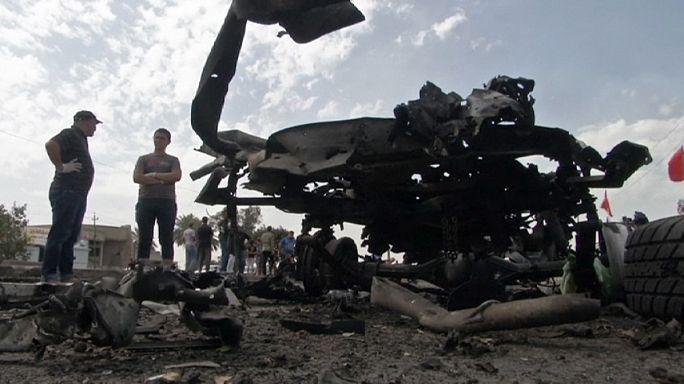 Anschlagsserie der IS-Miliz in Bagdad