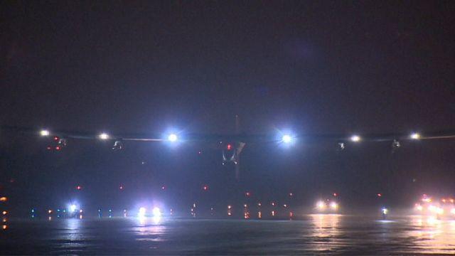 Solar Impulse turunun 10'uncu ayağında