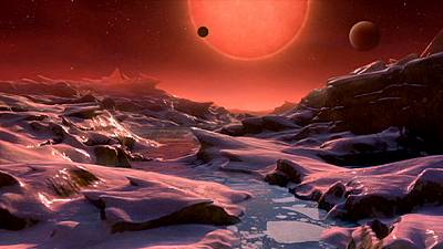 Three Earth-like planets found outside the Solar System