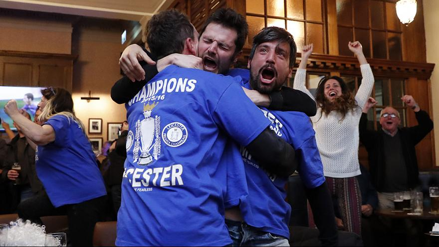 5,000-1 outsiders Leicester City win Premier League title