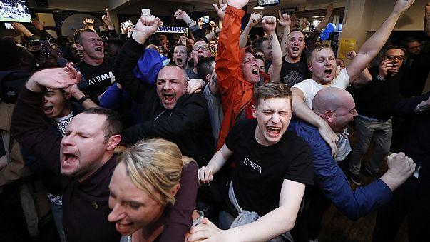 Leicester faz história em Inglaterra