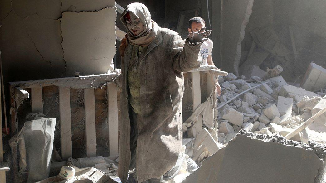 """Siria: De Mistura incontra Lavrov a Mosca, Kerry """"situazione fuori controllo"""""""