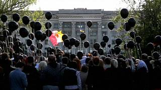 Tensions in Odessa on anniversary of 2014 deadly clashes