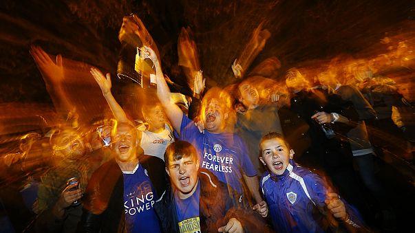 """Leicester feiert Meisterschaft der """"Füchse"""""""