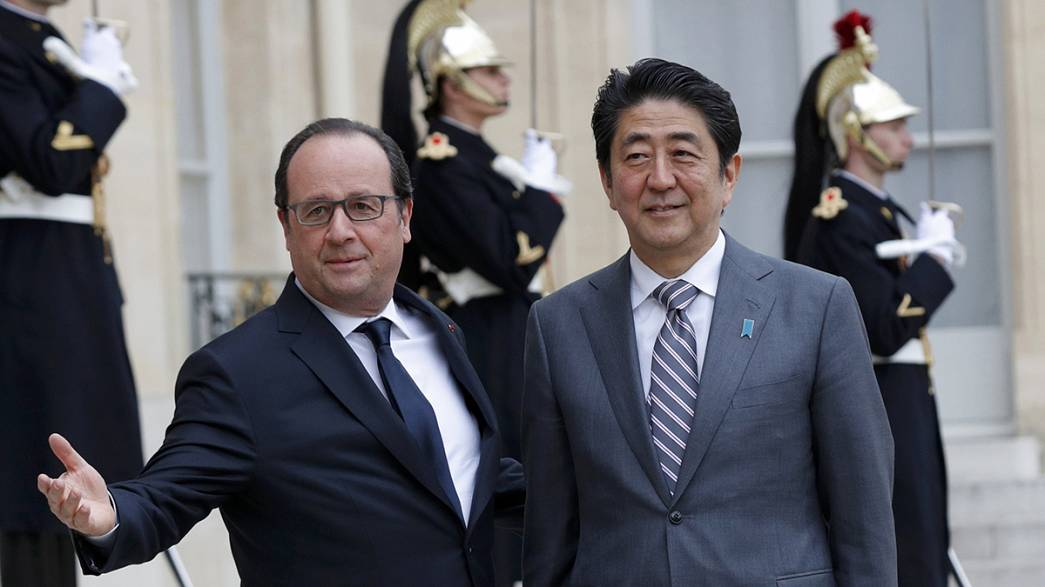 Shinzo Abe in Europa
