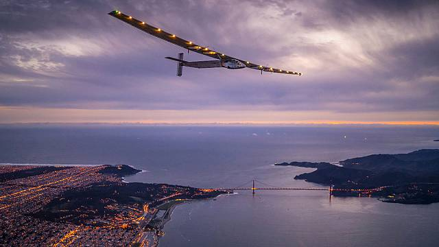 Solar Impulse Kaliforniya-Arizona uçuşunu bitirdi