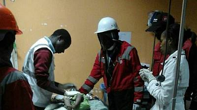 Kenya Red Cross rescues baby after 3 days of building collapse