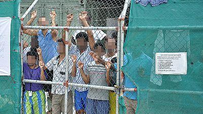 Una refugiada somalí se prende fuego en el centro de detención de Nauru
