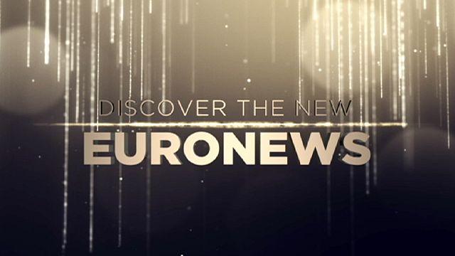 Une révolution pour Euronews : la chaîne présente un nouveau logo