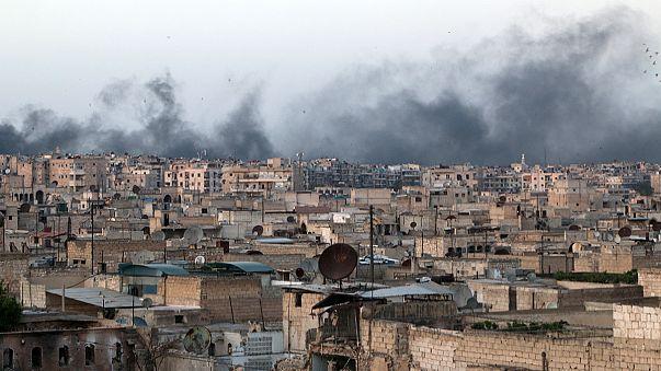Halep'te hastaneye bombalı saldırı