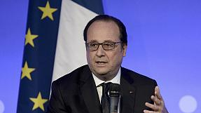 """TTIP: French president Hollande says France will say no to EU-US trade deal """"at this stage"""""""