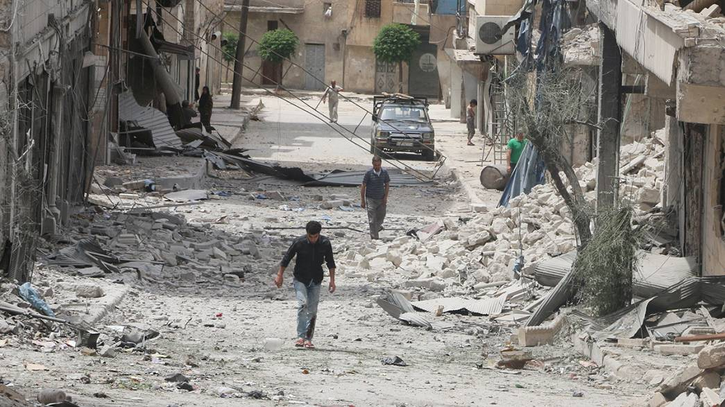 "Aleppo - hopes a truce is only ""hours away"""