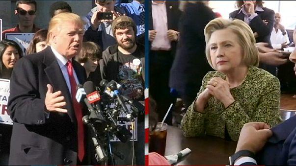 Trump ve Clinton başkanlık yarışına erken başladı