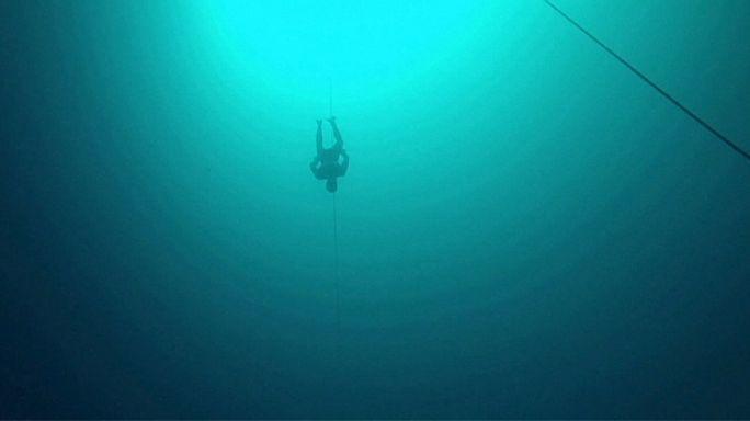 Bahamalar'da nefes kesen rekor