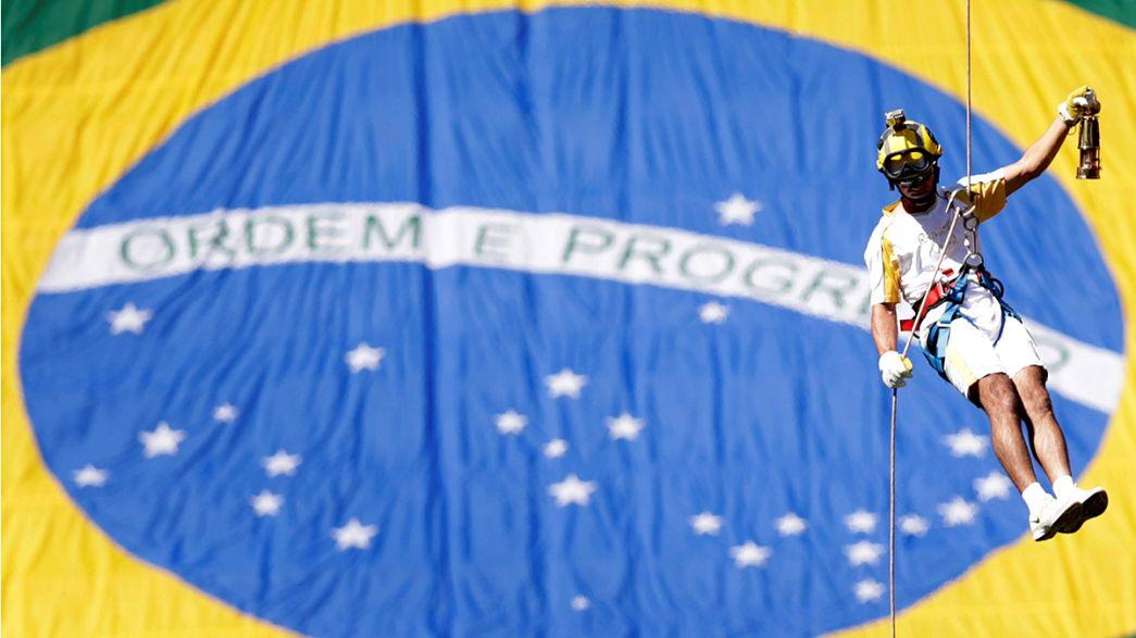 Fogo do Olimpo chegou a Brasília