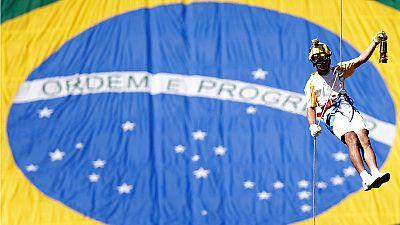 Rio Olympic Torch relay begins in Brasilia