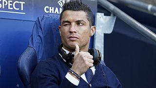 كريستيانو رونالد يشارك في مباراة الاياب بين ريال ومانشستر