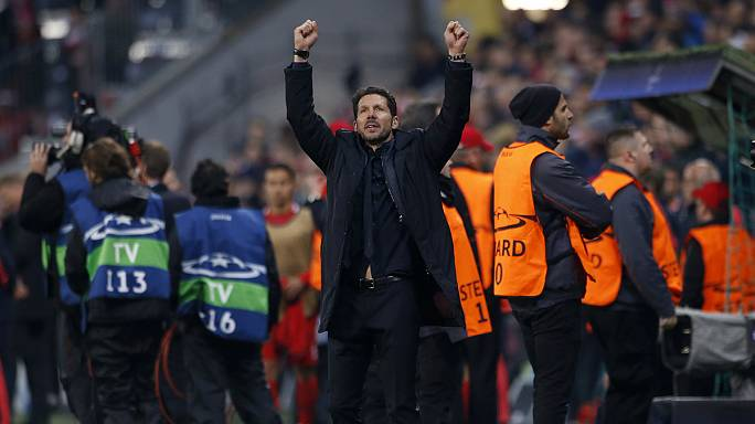 Atletico Madrid reach Champions League final again