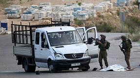 Israeli troops shoot dead driver of rammed car