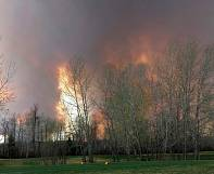 Canada: gigantesque incendie dans l'ouest du pays
