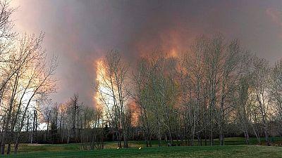 Waldbrand in Kanadas Ölsandregion: 60.000 auf der Flucht