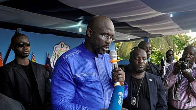 George Weah slapped with child support case in US