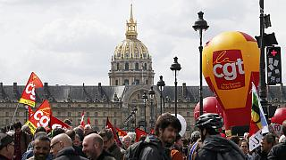 Protest against labour reform in France