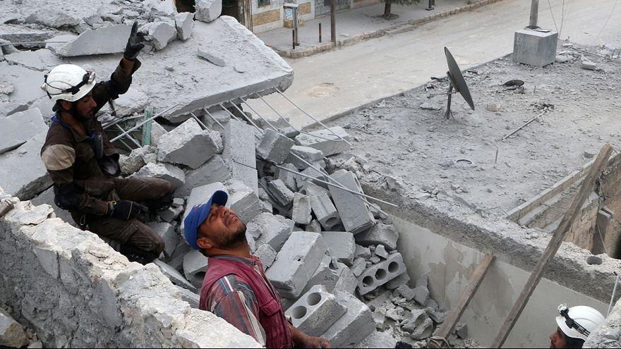 Συνεχίζονται οι μάχες στο Χαλέπι - Μπαράζ διπλωματικών επαφών στον ΟΗΕ