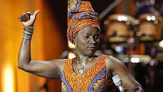 Angélique Kidjo honorée par Amnesty International