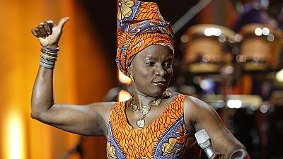 Angelique Kidjo gets Amnesty International's top award