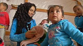 Дети сирийских беженцев в Ливане растут без документов