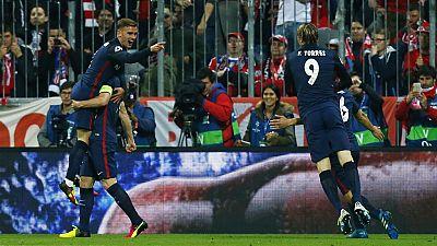 L'Atletico Madrid en finale
