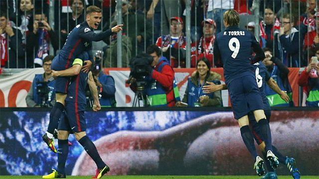 """Мадрид ликует: """"Атлетико"""" вышел в финал Лиги Чемпионов"""