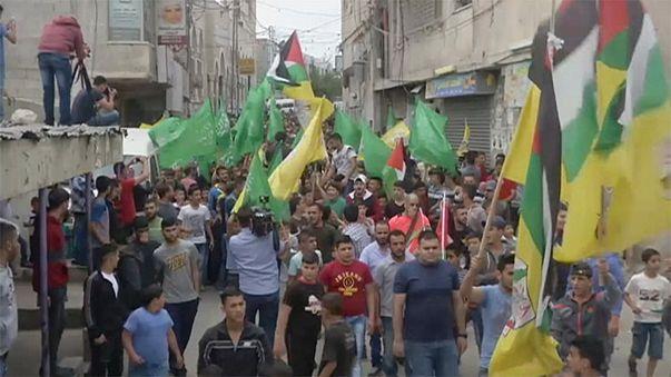 Trauer um erschossenen Palästinenser im Westjordanland