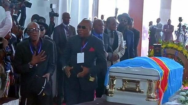 Papa Wemba buried in Kinshasa