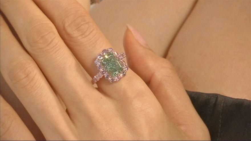 """""""Aurora Green"""": Chriestie's sfoggia il diamante verde dei record"""