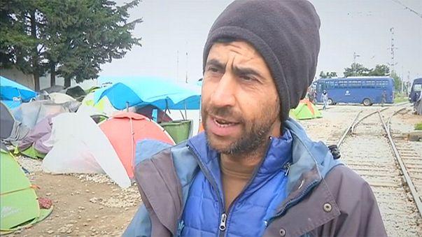 Los refugiados de Idomeni se sienten abandonados por la UE