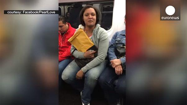 Video: Transgender woman 'assaulted on New York subway'