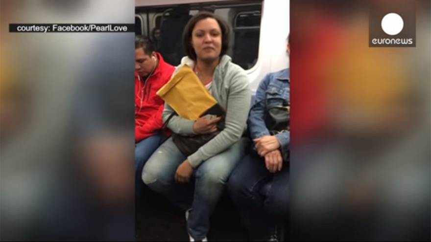 Video: Transgender woman 'assaulted on New York subway'