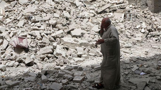 Сирийская армия прекращает огонь в Алеппо