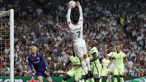 """Мадридский """"Реал"""" в 14-й раз в своей истории вышел в финал Лиги чемпионов"""